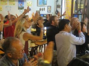 海外の人も・トライ2012女子優勝者
