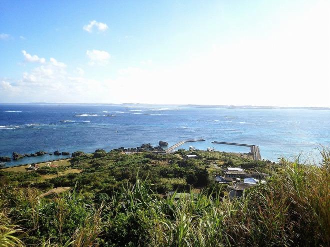 waon660大神島「遠見台」から眺める
