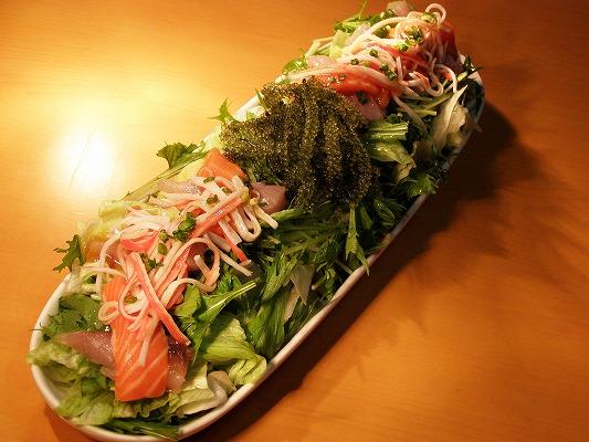 waon6601⑩海の物いっぱいサラダ 700円